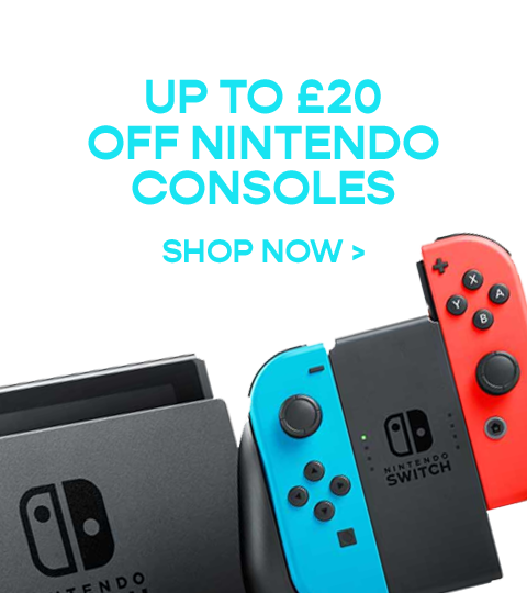 Get up to £20 off Nintendo Consoles