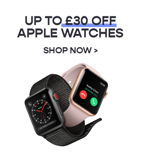 Up to £40 off Apple Watches