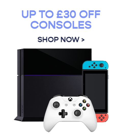 Get up to £30 off Consoles