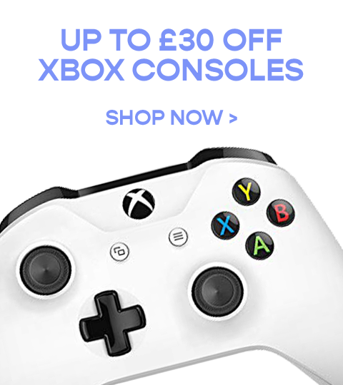 Get up to £20 off XBox Consoles