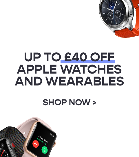 Get up to £40 off Apple Watches & Wearables