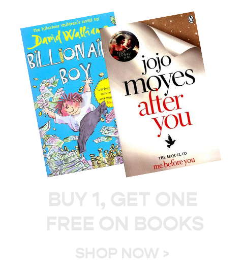 Buy 1, Get one Free on Books
