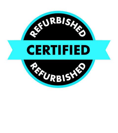 Every item of Tech we sell is Certified Refurbished by our in-house team!