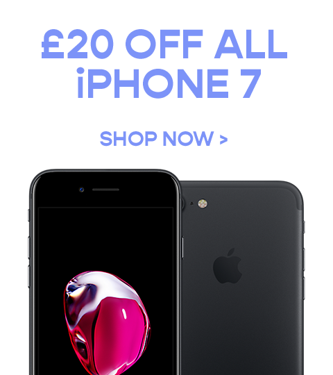 £ off ALL iPhone 7