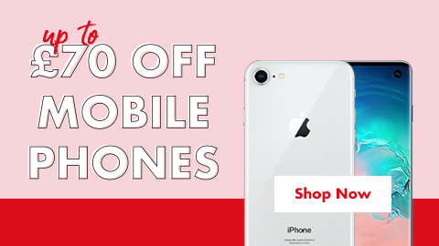 Up to £70 off mobile phones