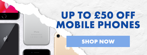 Up to £50 off Mobile phones
