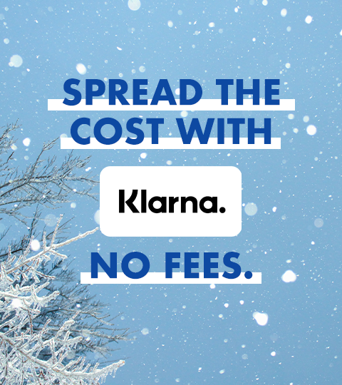 Spread the cost with Klarna. No fees