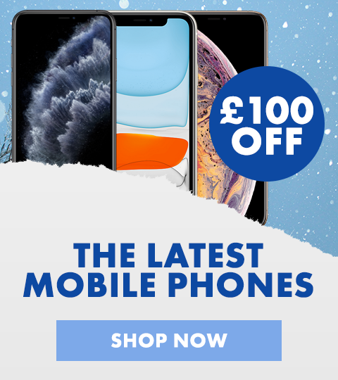 £100 off the latest Mobile Phones